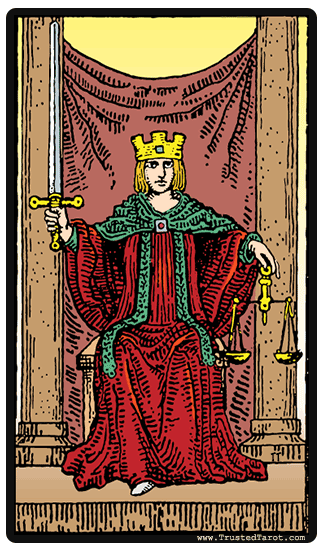 Justice Tarot Card Meaning Timing Amp More